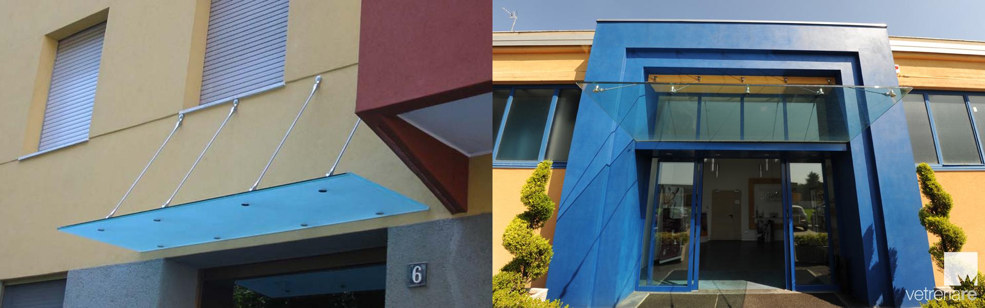 Schutzdächer: hängende Fassaden